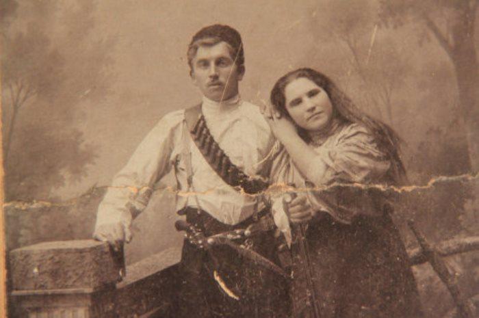Мария Попова с мужем