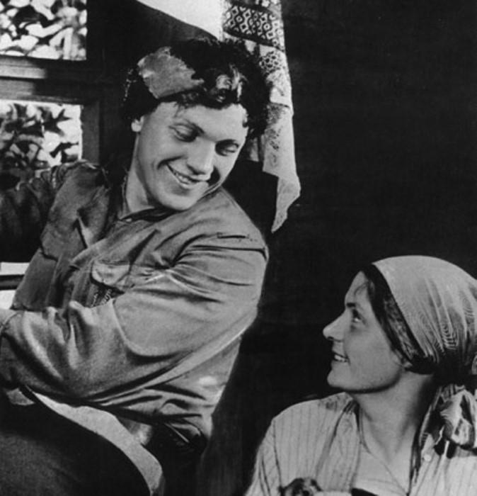 Кадр из фильма *Чапаев*, 1934