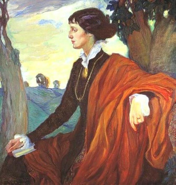 О Кардовская. Портрет А. Ахматовой, 1914