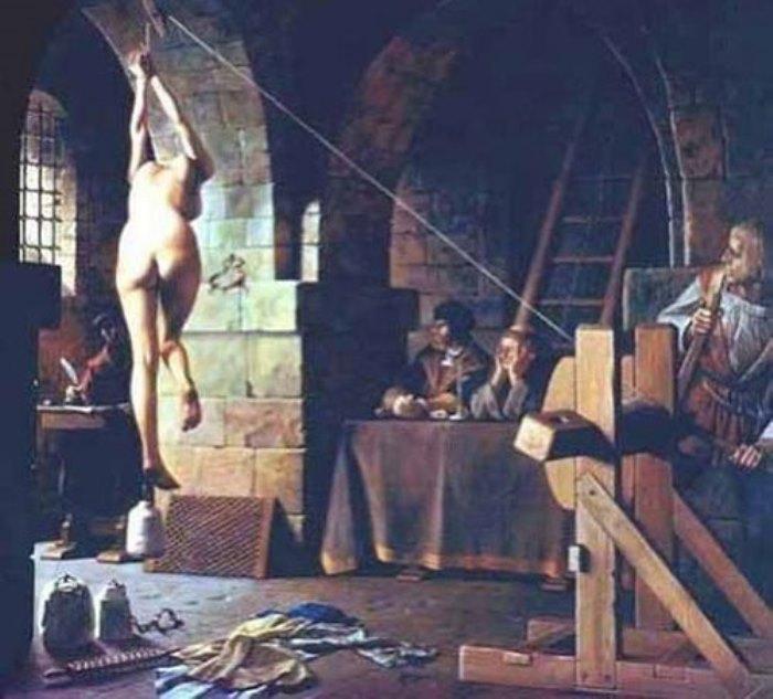 Вертикальная дыба – один из самых распространенных методов пыток в Швейцарии | Фото: secretofworld.ru