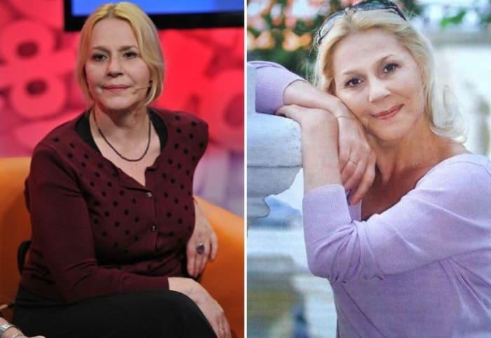 Одна из самых женственных и обаятельных актрис российского кино   Фото: kino-teatr.ru и uznayvse.ru