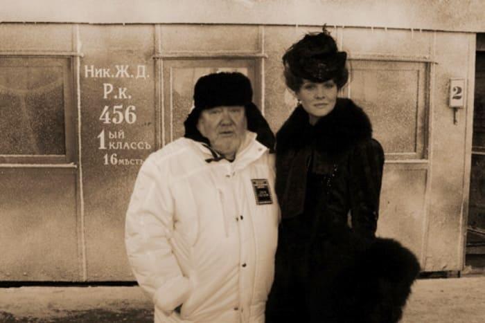 Сергей Соловьев и Татьяна Друбич на съемках фильма *Анна Каренина* | Фото: spletnik.ru