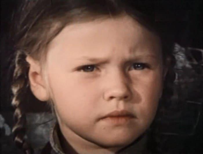 Анна Назарьева в фильме *Огненное детство*, 1976 | Фото: kino-teatr.ru