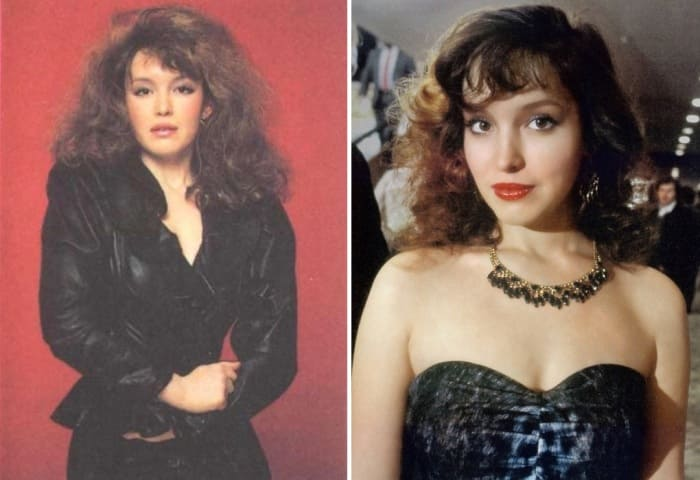 Актриса в 1990-х гг. | Фото: kino-teatr.ru и fishki.net