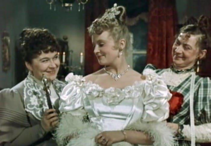 Кадр из фильма *Анна на шее*, 1954 | Фото: kino-teatr.ru