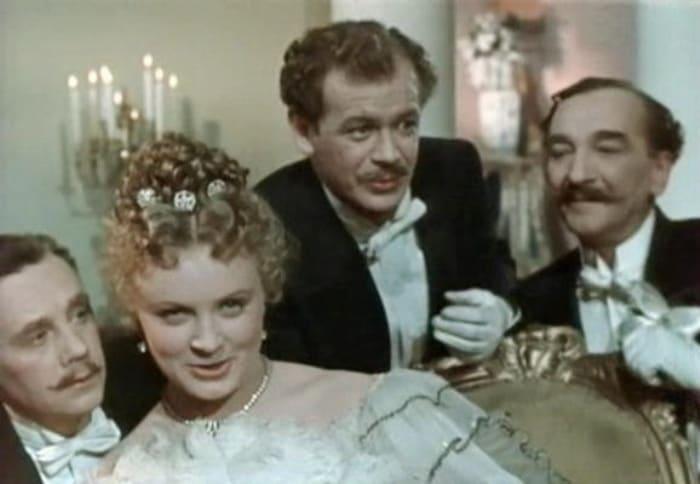 Кадр из фильма *Анна на шее*, 1954 | Фото: vokrug.tv