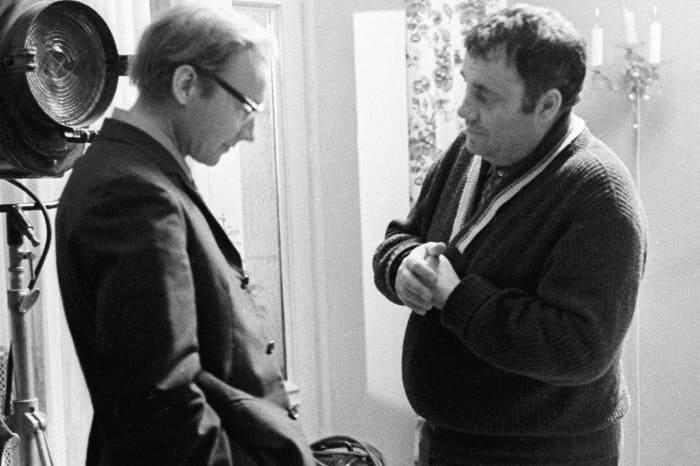 Андрей Мягков и Эльдар Рязанов | Фото: videoboom.cc