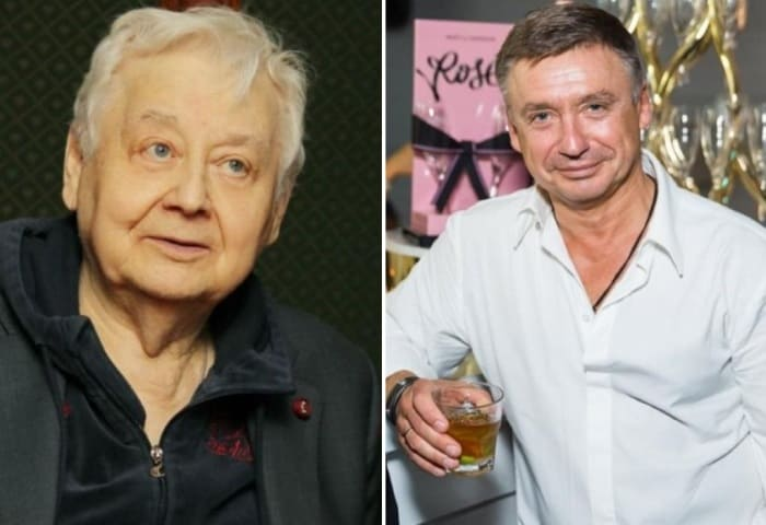 Олег Табаков и его старший сын Антон | Фото: versiya.info
