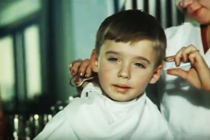 Антон Табаков в детстве | Фото: kino-teatr.ru