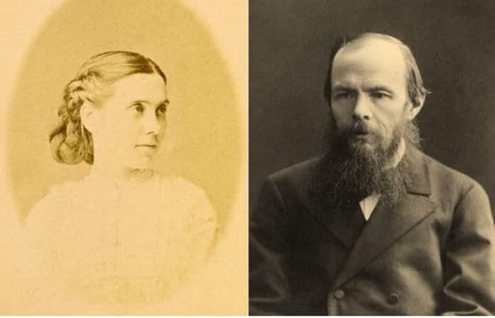 Аполлинария Суслова и Федор Достоевский | Фото: archive.fo