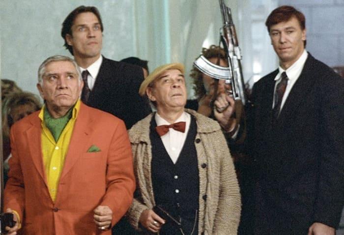Кадр из фильма *Ширли-мырли*, 1995 | Фото: bulvar.com.ua