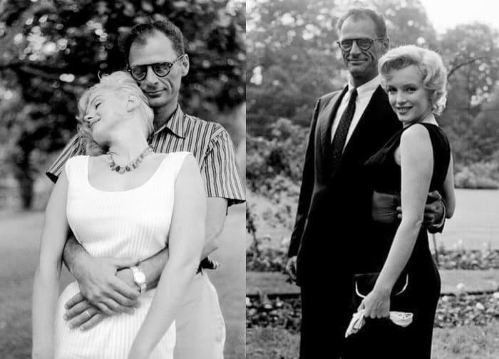 Драматург и его вторая жена, актриса Мэрилин Монро | Фото: econet.ua
