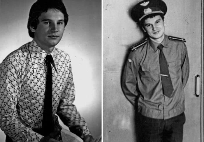 Алексей Балабанов в молодости | Фото: biographe.ru, pikabu.ru