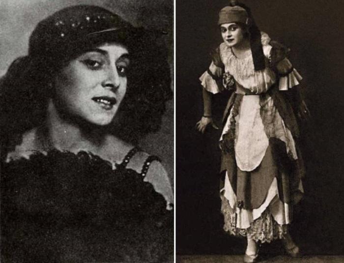 Актриса Миклашевская в роли принцессы Брамбиллы | Фото: liveinternet.ru