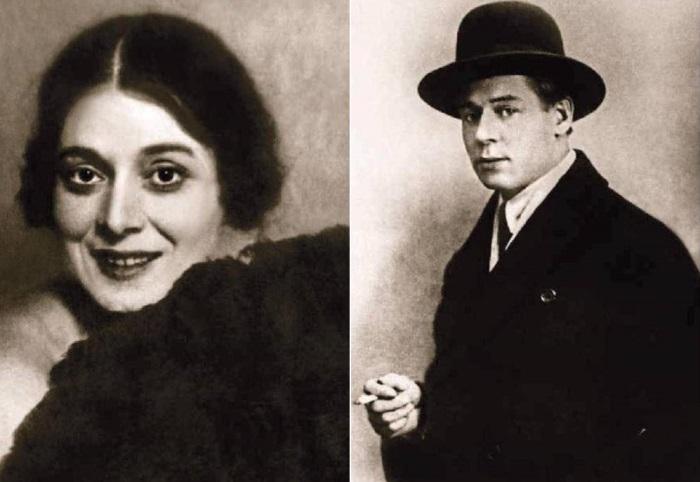 Августа Миклашевская и Сергей Есенин | Фото: liveinternet.ru