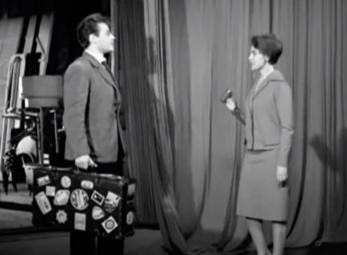 Аза Лихитченко в фильме-спектакле *Интервью у весны*, 1962 | Фото: kino-sssr.livejournal.com