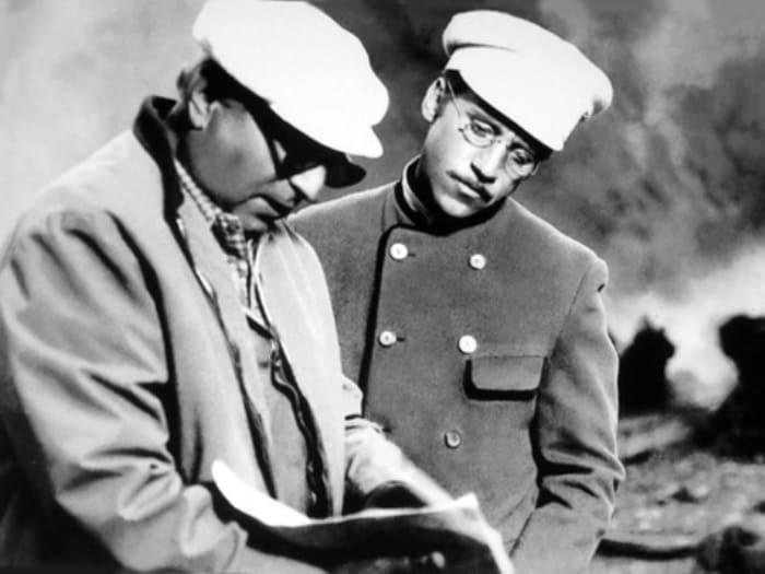 Иосиф Хейфиц и Владимир Высоцкий | Фото: mk.ru