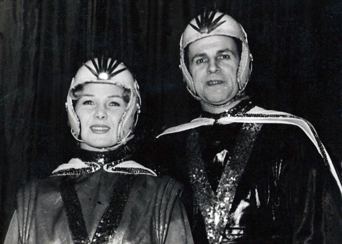 Артисты цирка Надежда и Петр Маяцкие | Фото: hideip.pw