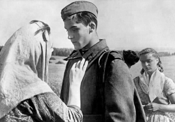Владимир Ивашов в фильме *Баллада о солдате*, 1959 | Фото: portal-kultura.ru