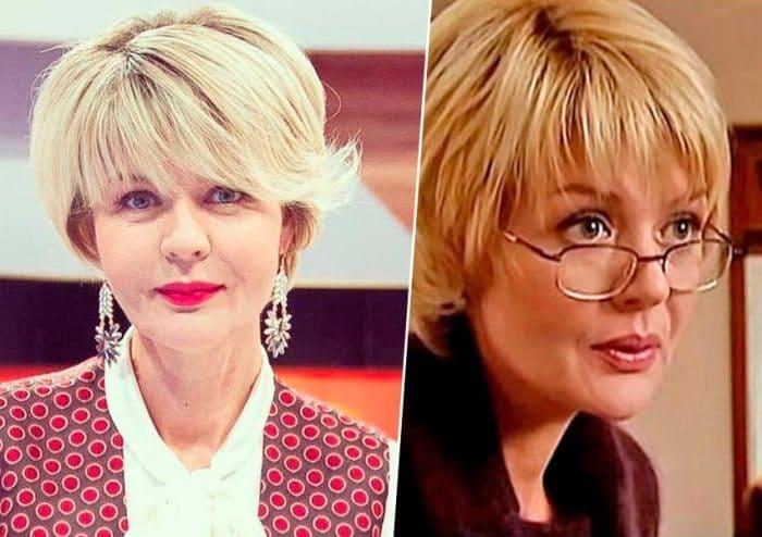 Юлия Меньшова в наши дни и в сериале *Бальзаковский возраст, или Все мужики сво…* | Фото: teleprogramma.pro