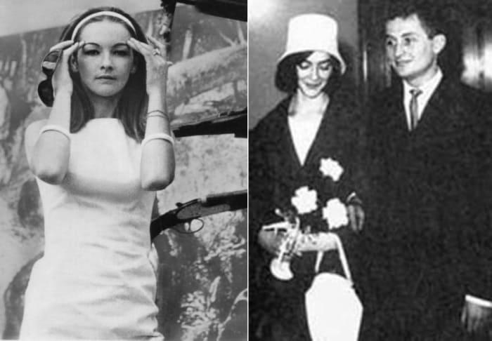 Барбара Брыльска и ее первый муж Ян Боровец | Фото: kino-teatr.ru и famousfix.com