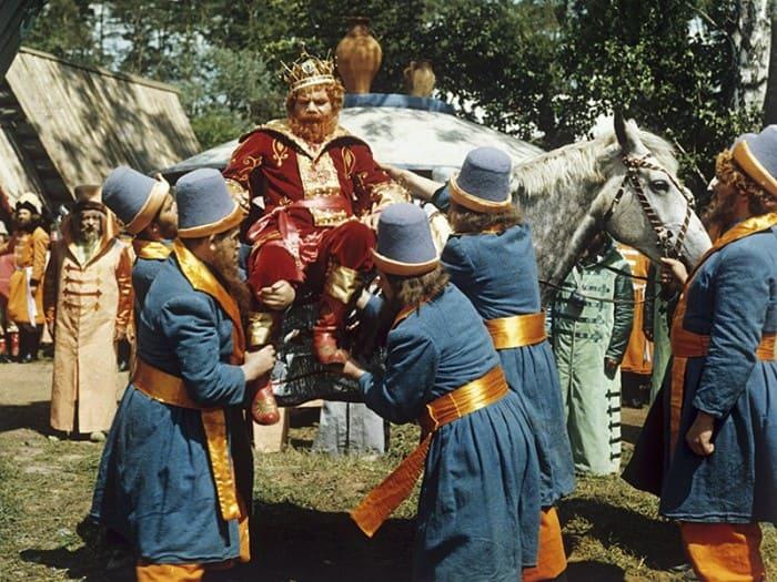 Михаил Пуговкин в роли царя Еремея | Фото: tvc.ru