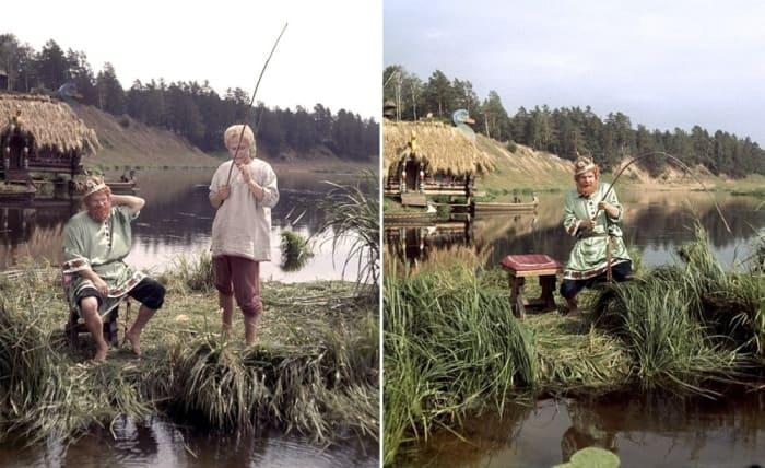 Кадры из фильма *Варвара-краса, длинная коса*, 1969 | Фото: tvc.ru