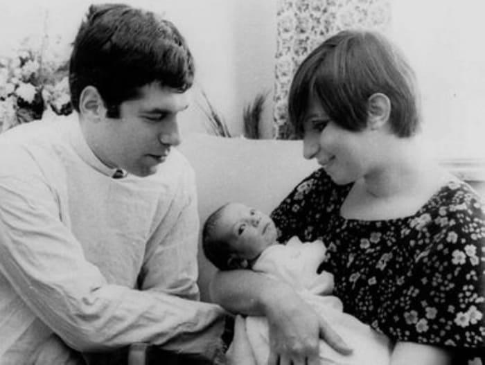 Барбра Стрейзанд с первым мужем и сыном | Фото: hochu.ua