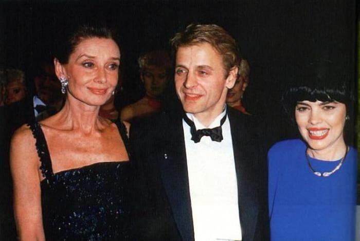 Одри Хепберн, Михаил Барышников и Мирей Матье | Фото: love-psy.ru