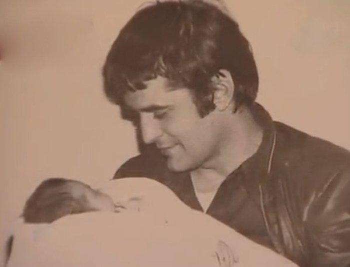 Бася с отцом, Людвигом Космалем | Фото: kinoistoria.ru