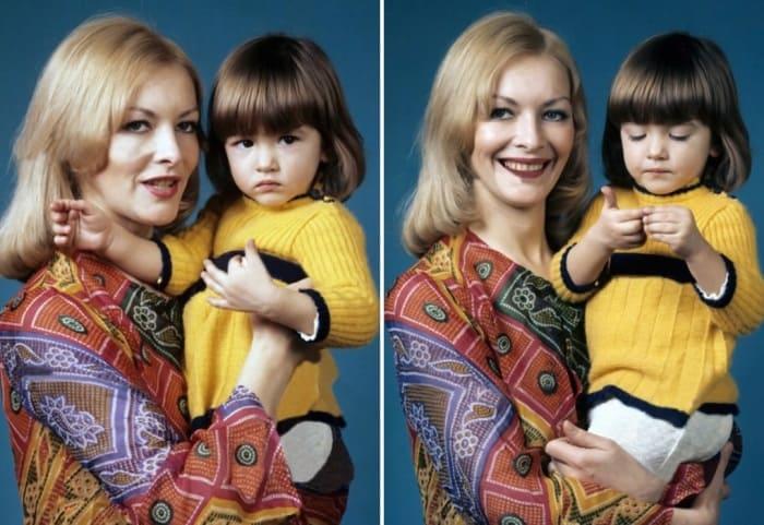 Барбара Брыльска с дочерью Басей | Фото: games-of-thrones.ru