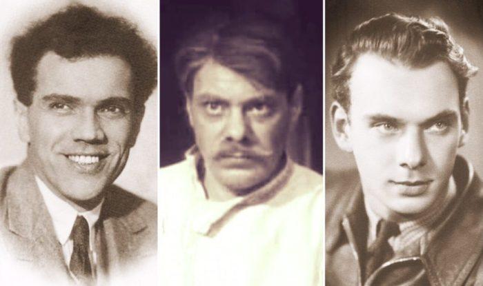 Николай, Владимир и Алексей Баталовы | Фото: retrospectra.ru