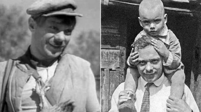 Владимир Баталов с сыном Алексеем | Фото: retrospectra.ru