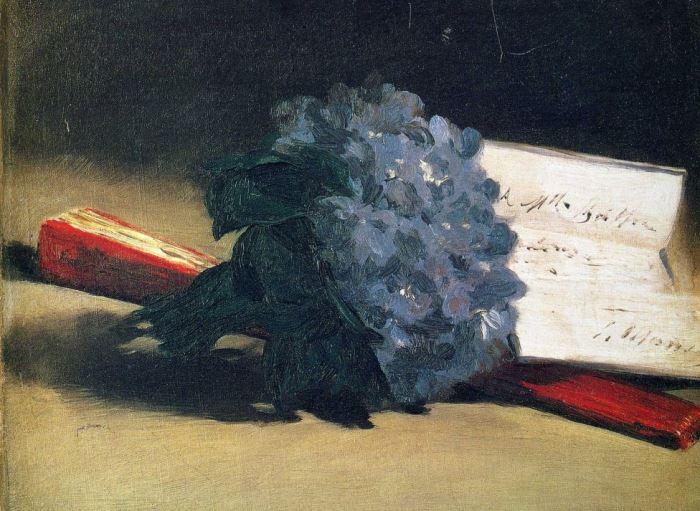 Э. Мане. Букет фиалок, 1872 | Фото: artchive.ru