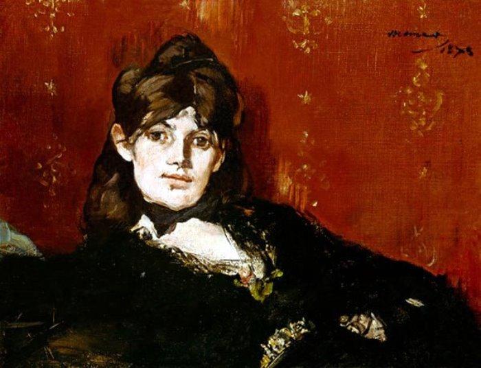 Э. Мане. Портрет Берты Моризо, 1873 | Фото: artchive.ru