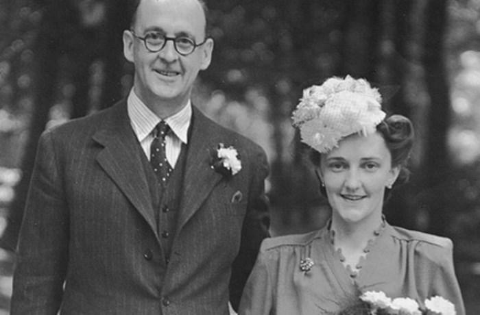 Бертольд Визнер и его жена Мэри Бартон