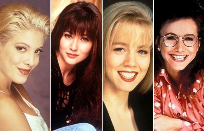 Звезды сериала *Беверли-Хиллз, 90210* | Фото: pozitiffchik.com