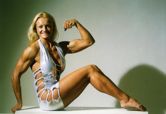 Словенка Бригита Брезовац на заре своей фитнес-карьеры