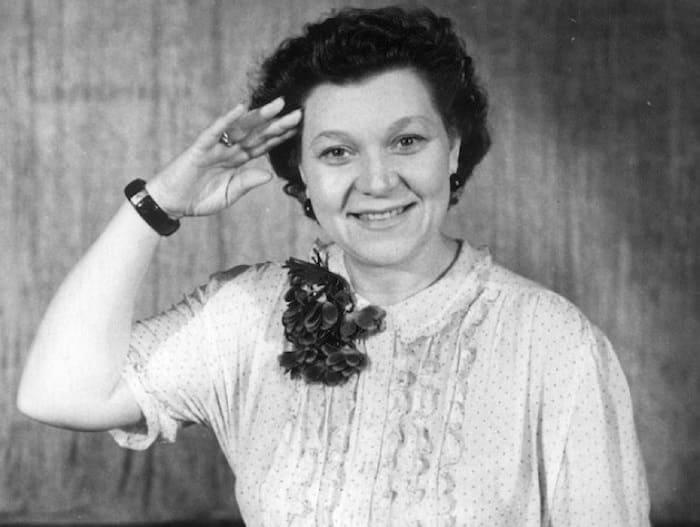 Знаменитая советская певица Клавдия Шульженко | Фото: muslib.ru