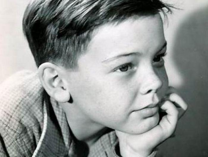 Бобби Дрисколл в детстве | Фото: peoples.ru