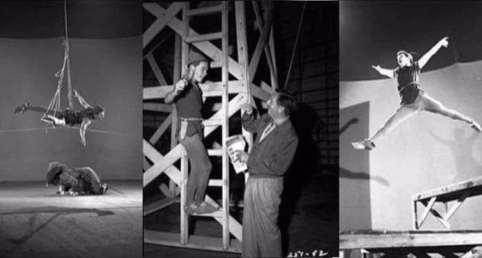 Бобби Дрисколл на съемках мультфильма *Питер Пэн* | Фото: wday.ru