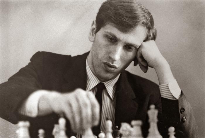 Один из величайших шахматистов мира Бобби Фишер