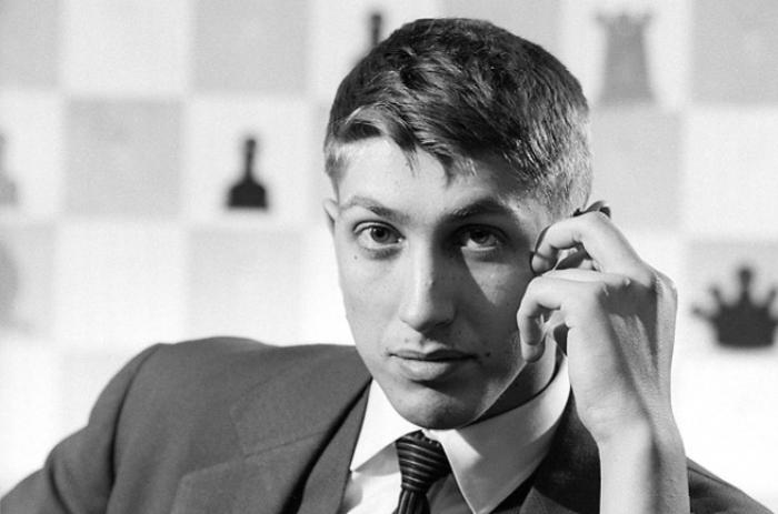 11-й чемпион мира по шахматам Бобби Фишер