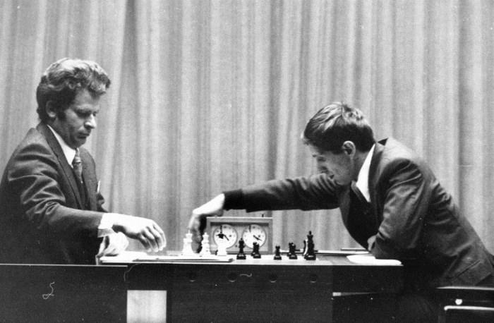 В 1972 г. Фишер одержал победу над Спасским