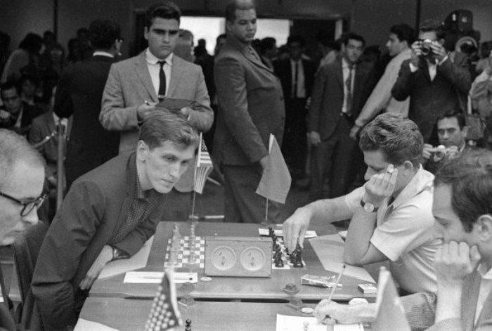 Знаменитый матч Фишер-Спасский