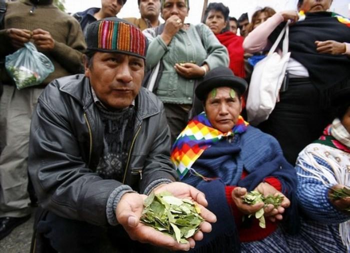Кокалерос - крестьяне Боливии