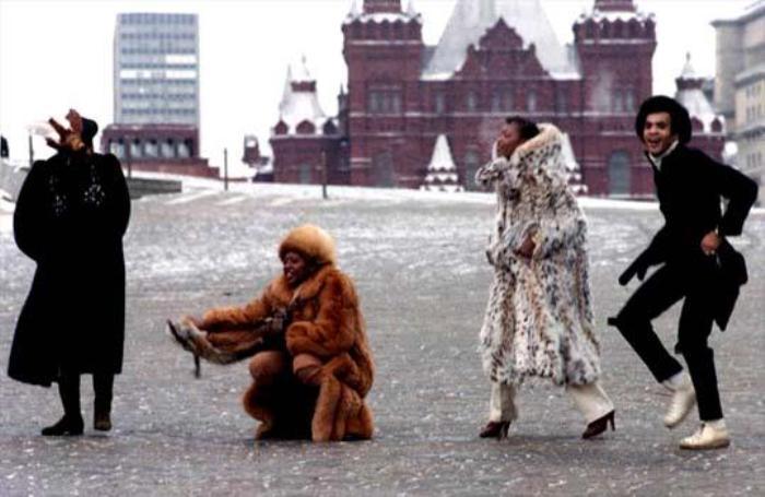 Группа во время гастролей в СССР | Фото: joinfo.ua