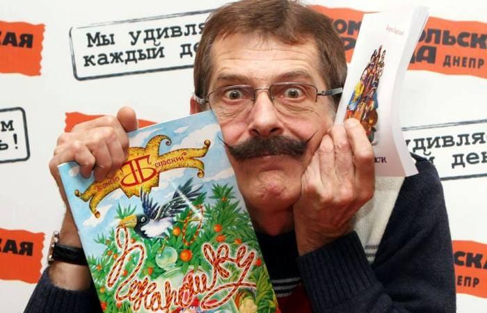 Актер, поэт, драматург Борис Барский | Фото: graniart.in.ua