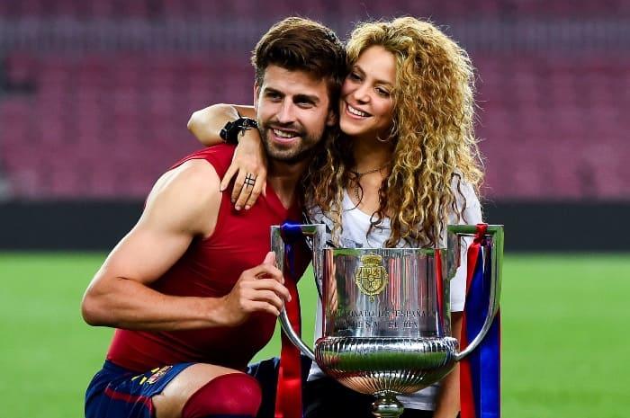 Футболист Жерар Пике и певица Шакира | Фото: elle.ru