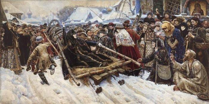 В. Суриков. *Боярыня Морозова*, 1884–1887
